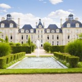Cheverny Chateau view from apprentice's garden, France Series
